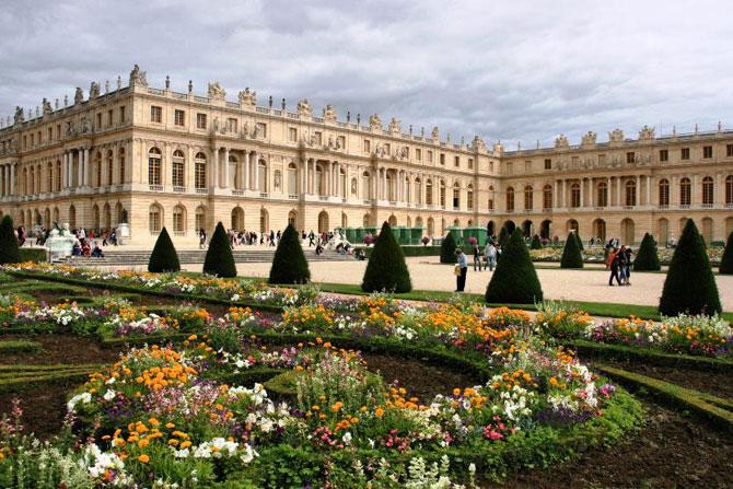 Сад при Версальском дворце