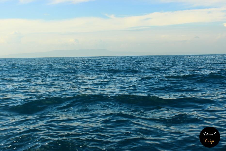 Море по пути к островам Гили