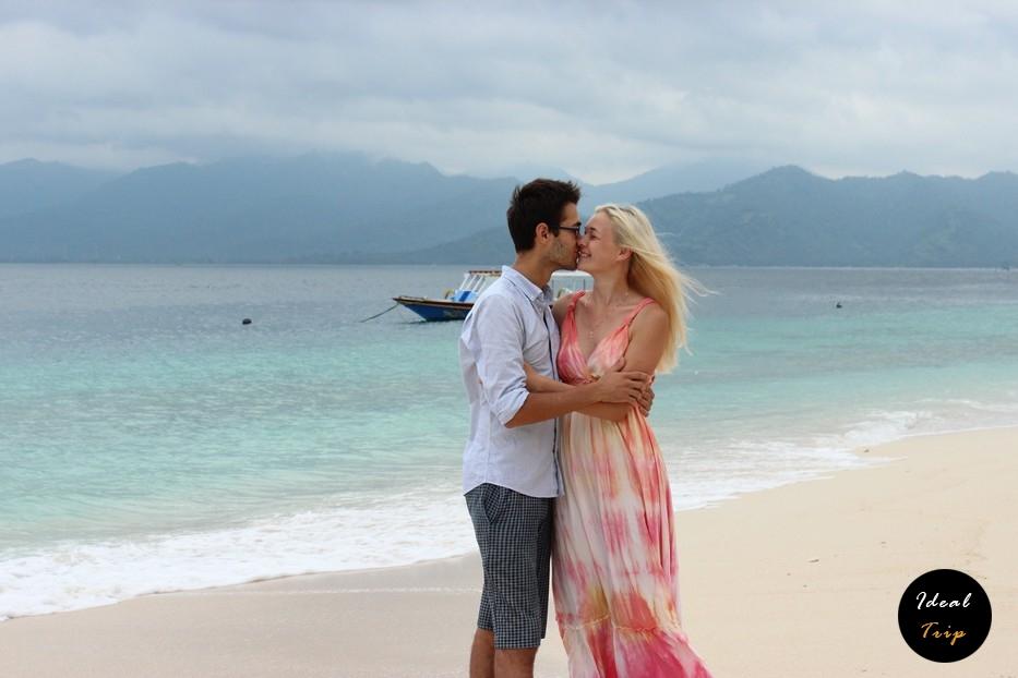Станислав Матвеев и Кристина Эндлесс на острове Гили