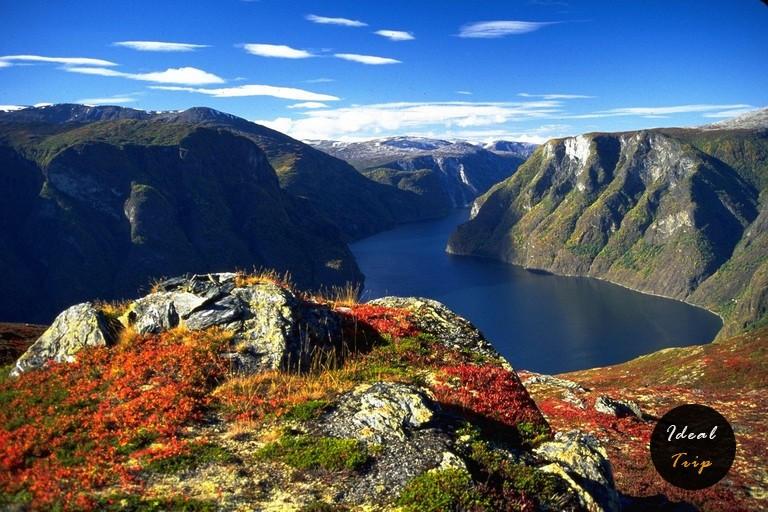 The Aurlandsfjord (2)