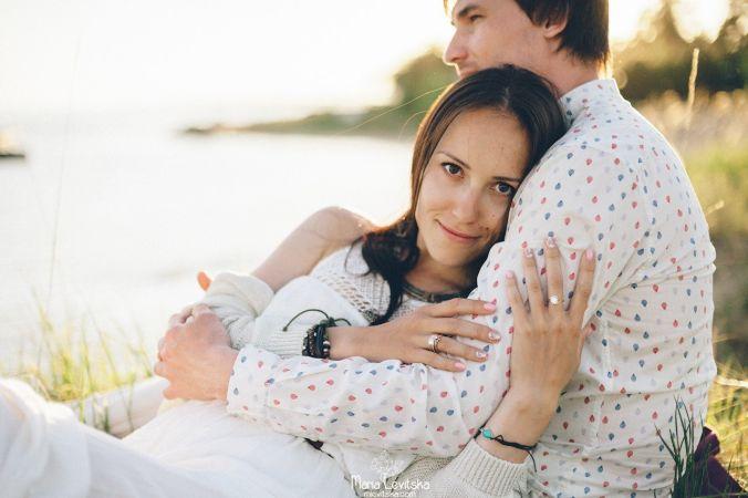Фото влюбленной пары от Марии Левицкой