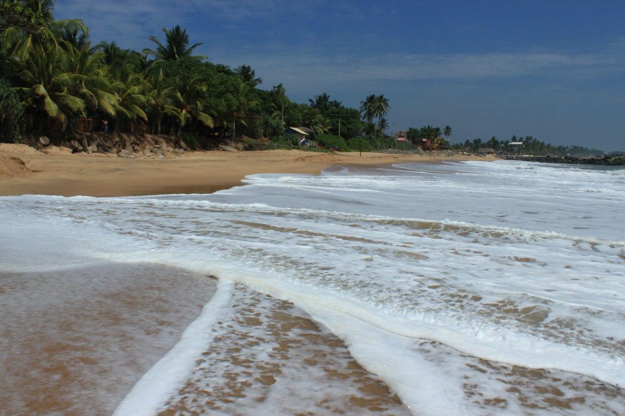 Пляж в Тангалле