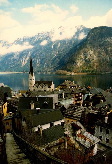 Городок в Австрии