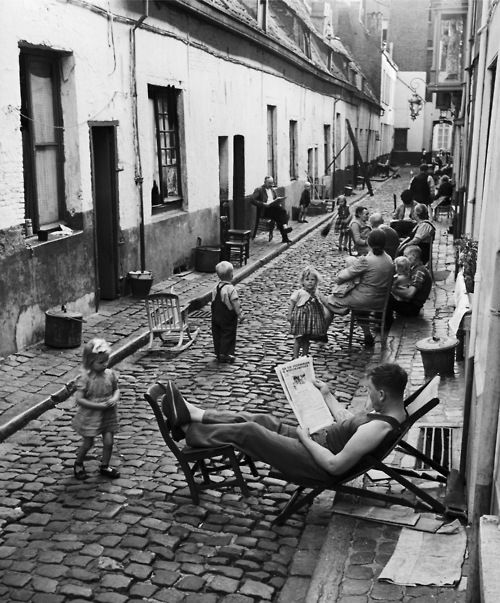 город Антверпен в 1949 году