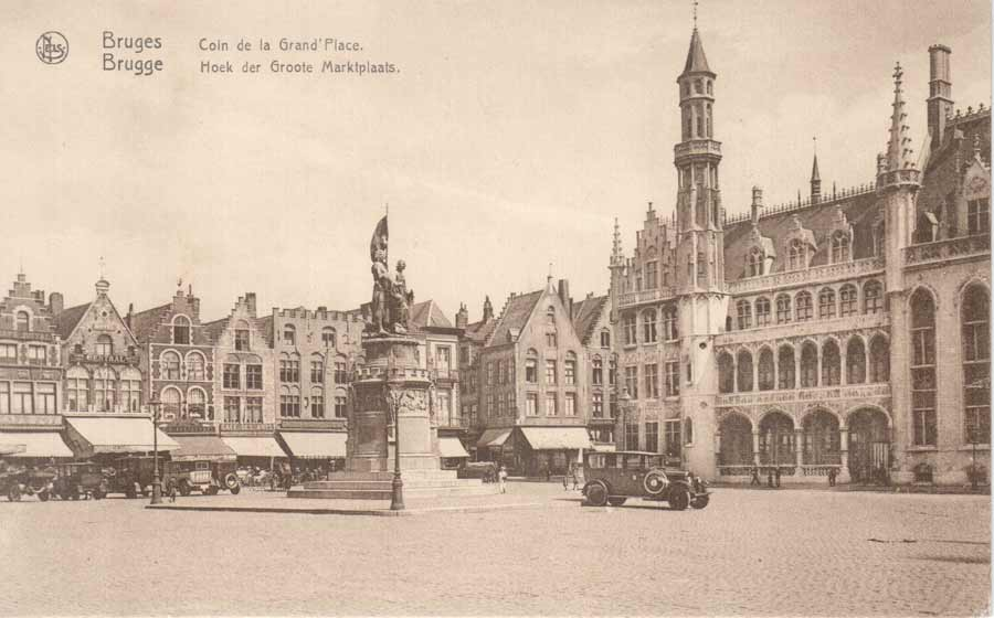 древний Антверпен