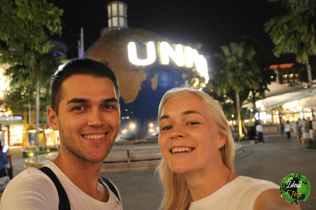 Станислав Матвеев и Кристина Эндлесс в Сингапуре