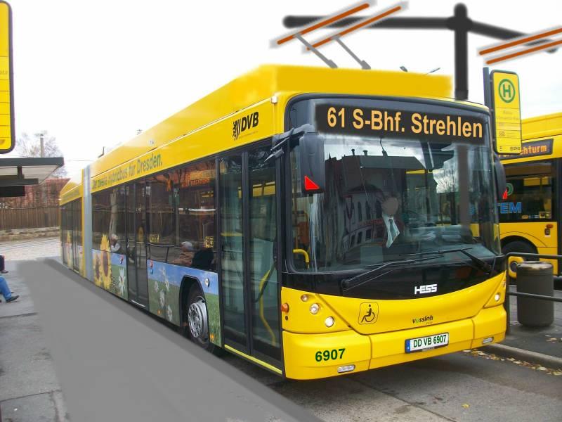 автобус в Дрезден