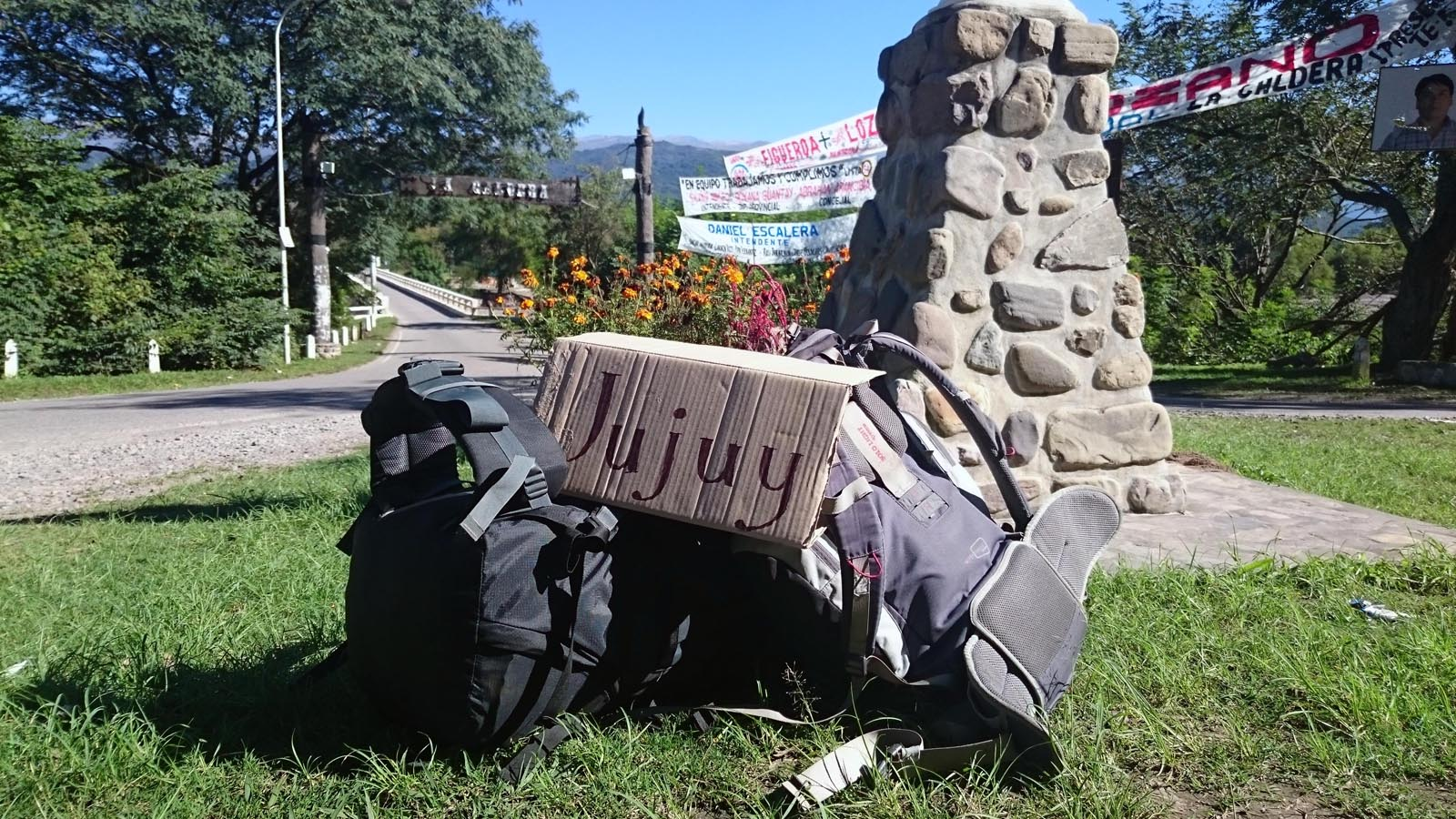 Рюкзаки путешественников
