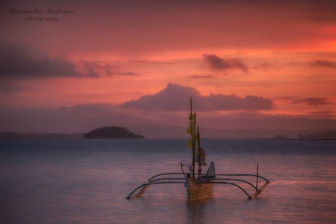 Традиционная Филиппинская лодка