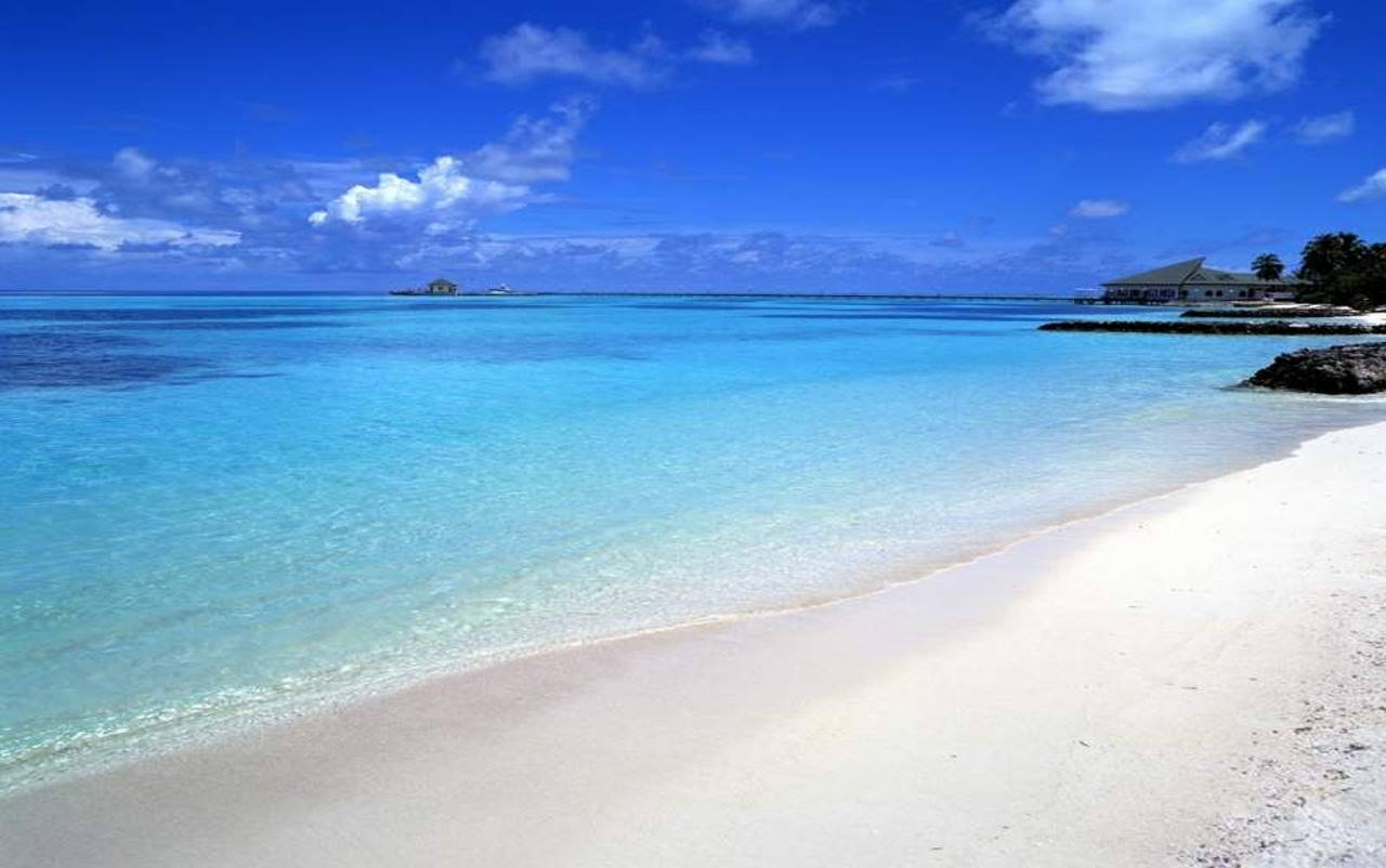 пляж в Алании, Турция