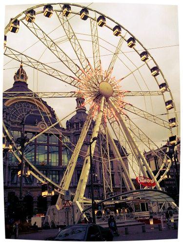 колесо обозрения в Антверпен