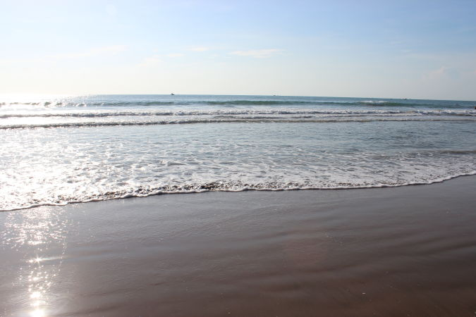Пляж Malibu beach