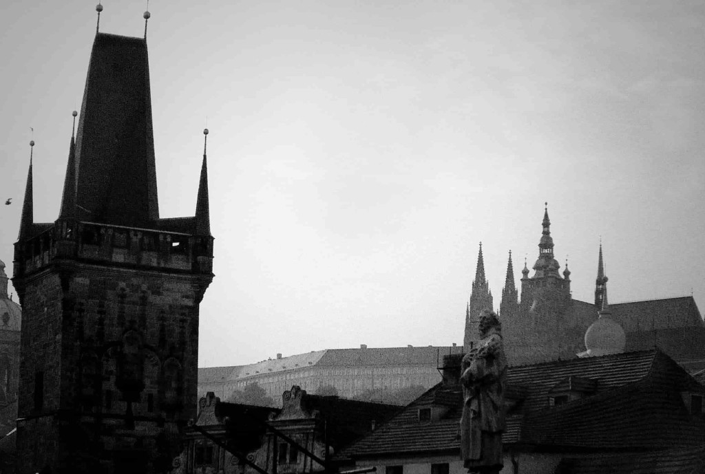 мрачная Прага