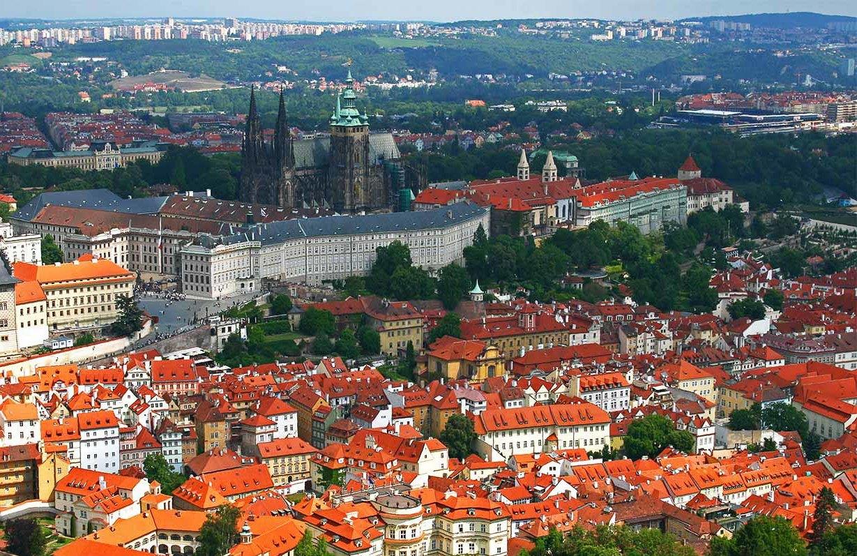 Холм в Праге