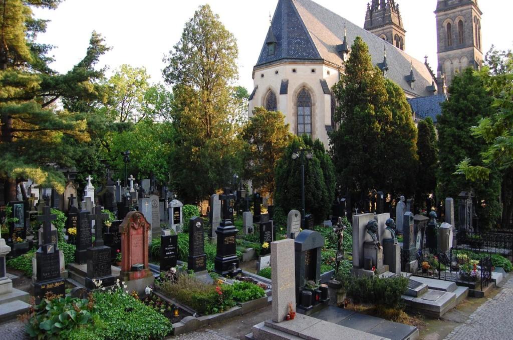 Кладбище в Вышеград