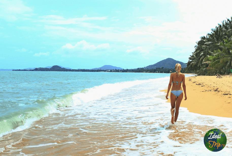 пляж Маенам, остров Самуи