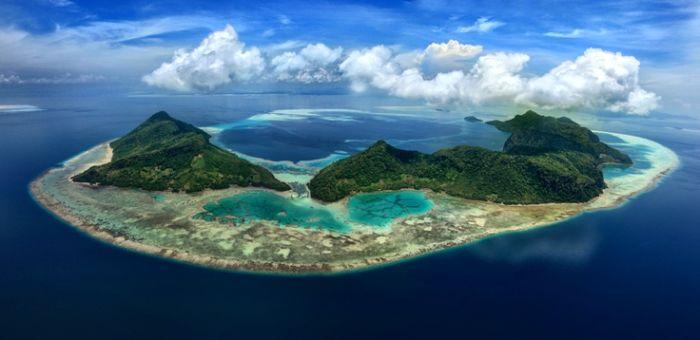 Остров Семпорна на Борнео