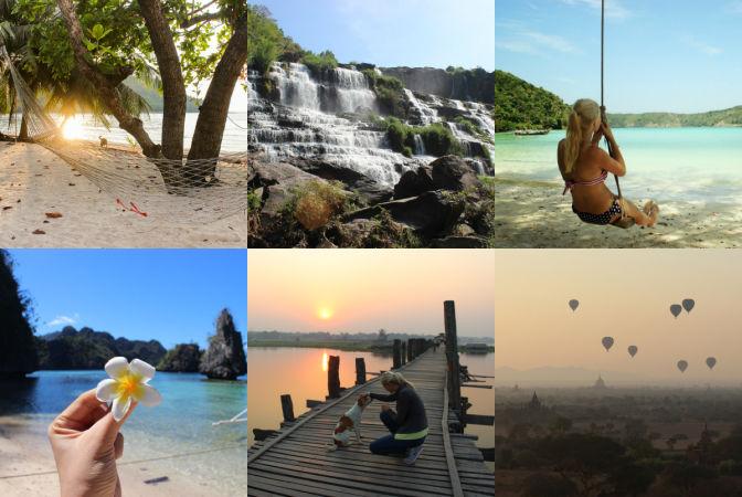 Путешествия Кристины Эндлесс по странам ЮВА
