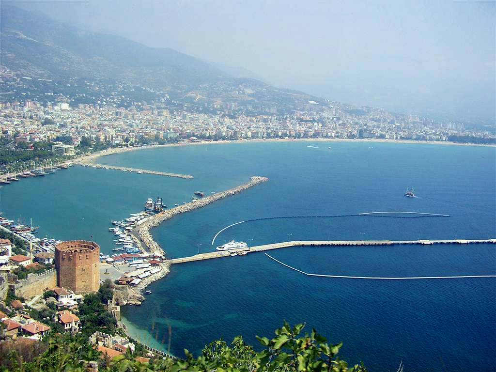 Средиземное море в Турции