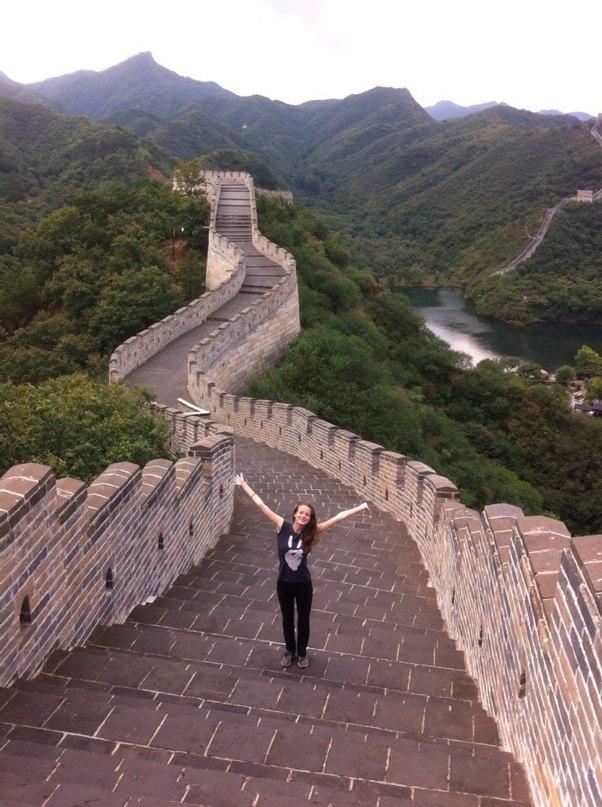 Алина и великая Китайская стена