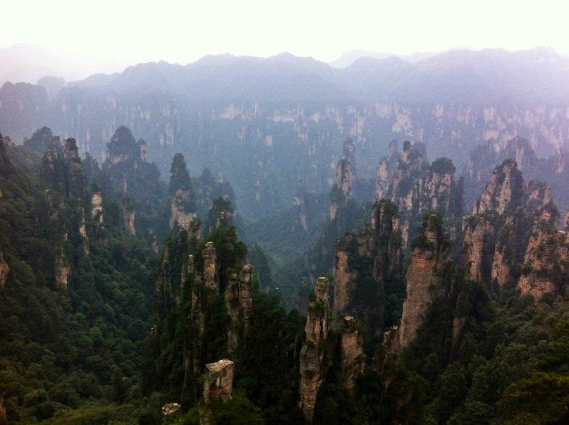 """Горы """"Аватара"""" в Китае"""