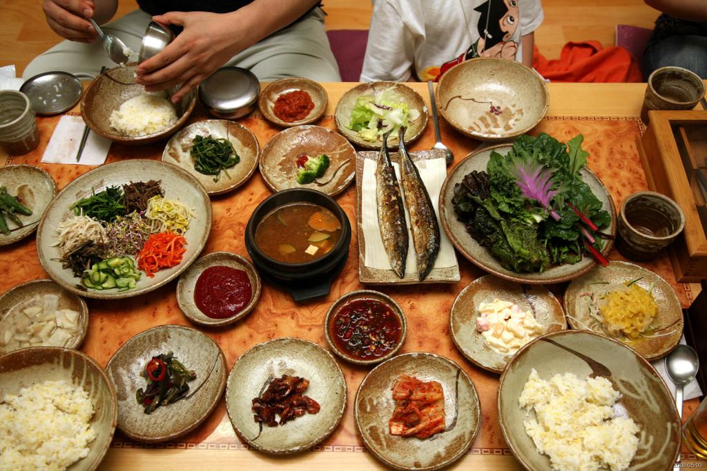 Корейская национальная еда