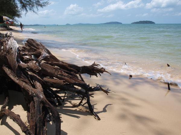 Пляж Виктория в Камбодже