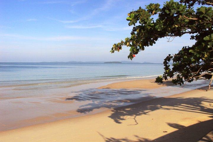 Пляж в Сиануквилле
