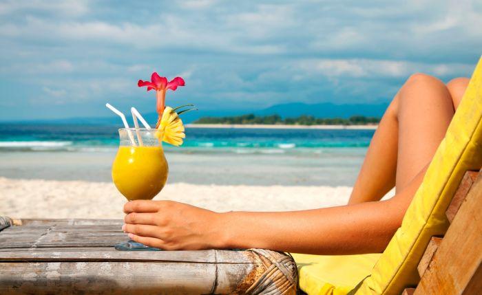 Девушка на райском острове Бали