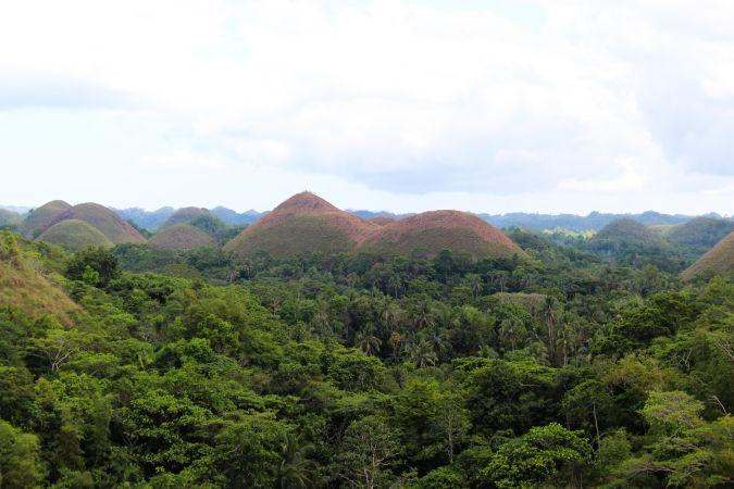 Шоколадный холм