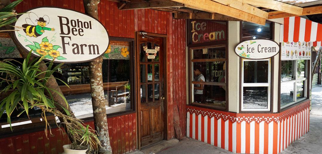 Настоящее мороженое от Bohol Bee Farm