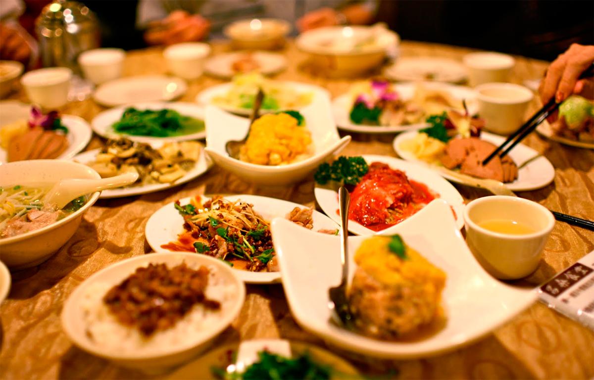 Азиатская острая еда
