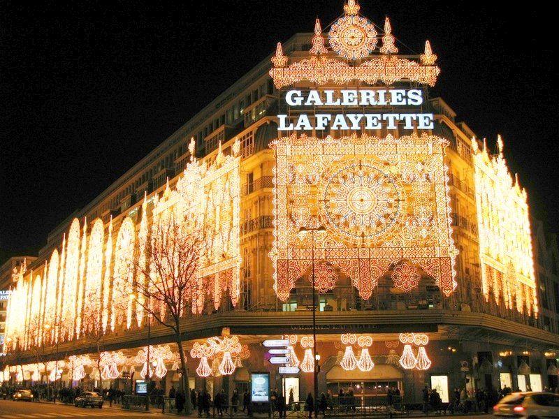 За покупками в париж новый год