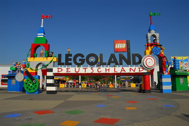 Парк развлечений Леголенд в Германии