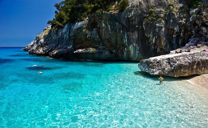 Какое море в италии