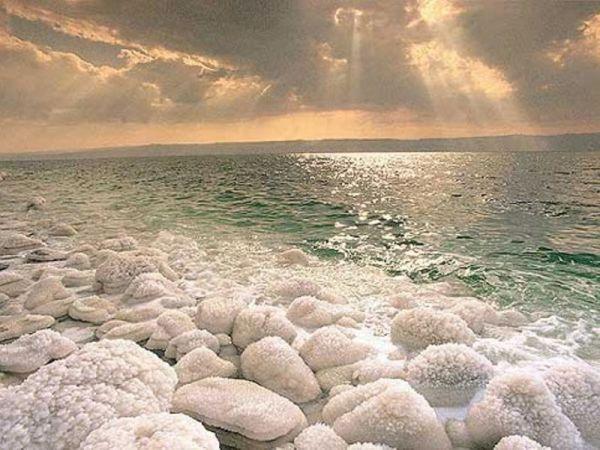 Мертвое море и соль