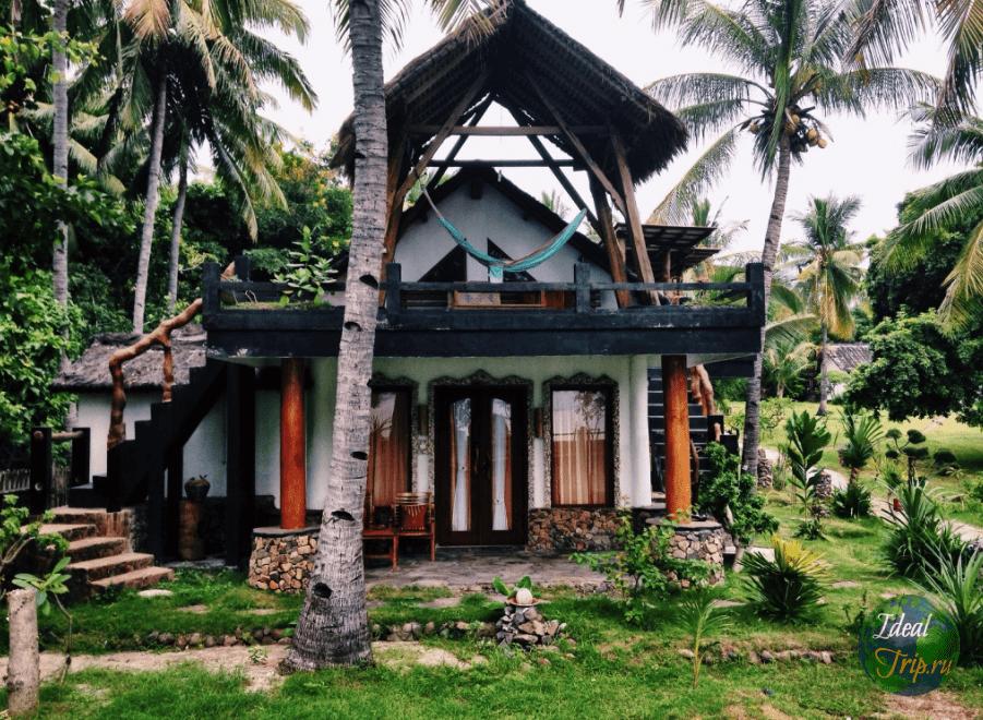 Жилье на острове