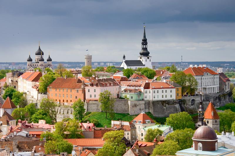 Верхний город - Таллин