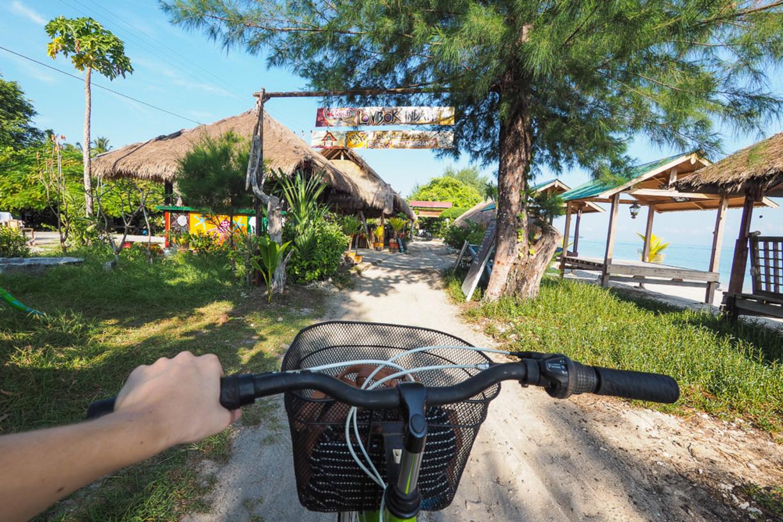 На велосипеде по острову