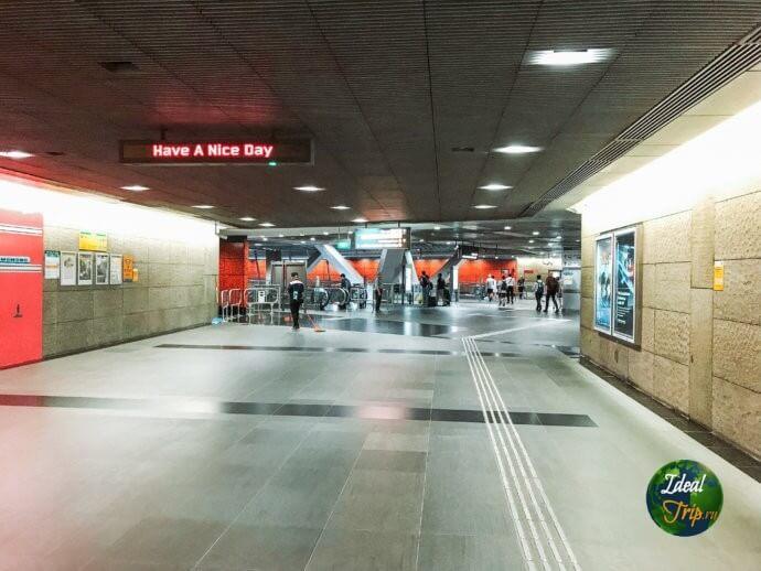 метро в Сингапур
