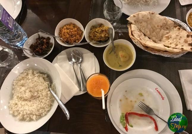 Блюда из риса и разных соусов