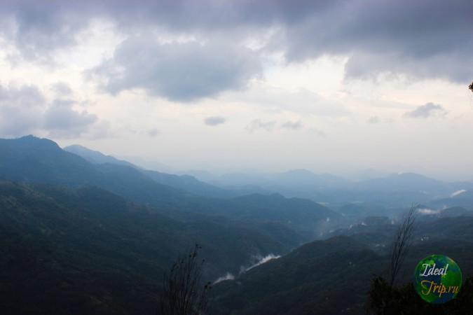 Элла Рок - вид с горы