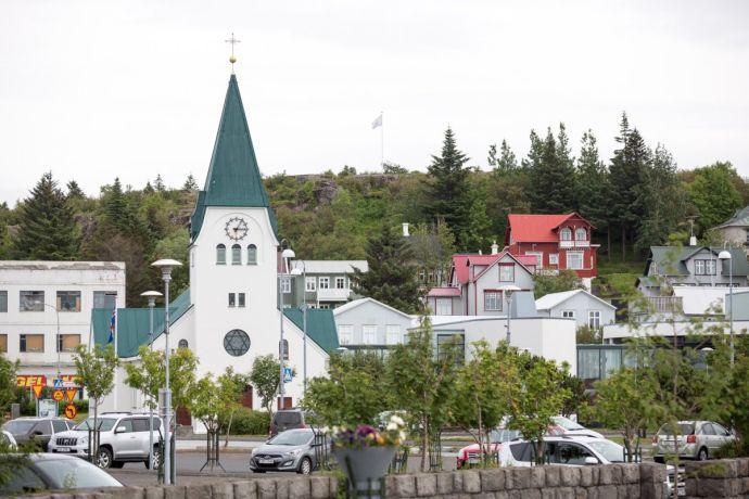 окрестности города Хабнарфьордюр