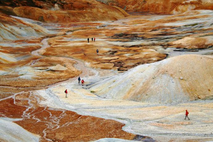 Kerlingafjoll hot spring1