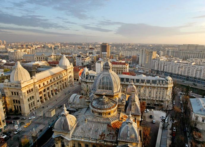Бухарест в Румынии
