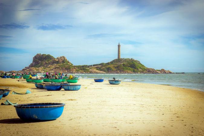 Пляж Ке-Га во Вьетнаме