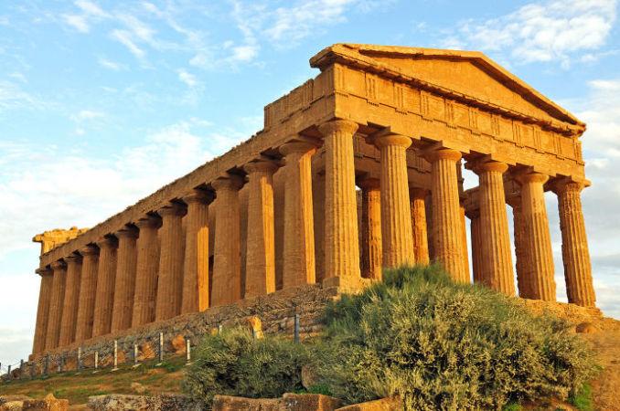 Долина храмов Сицилии