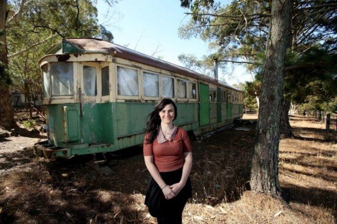 ретро трамвай - жилье на Airbnb