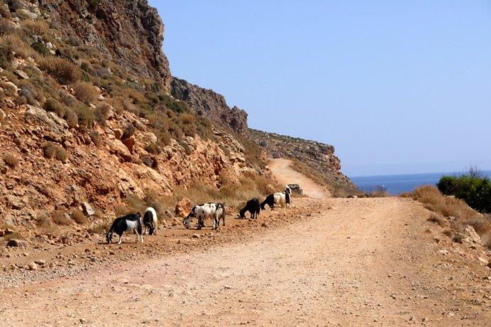 дорога по пути в лагуну Балос