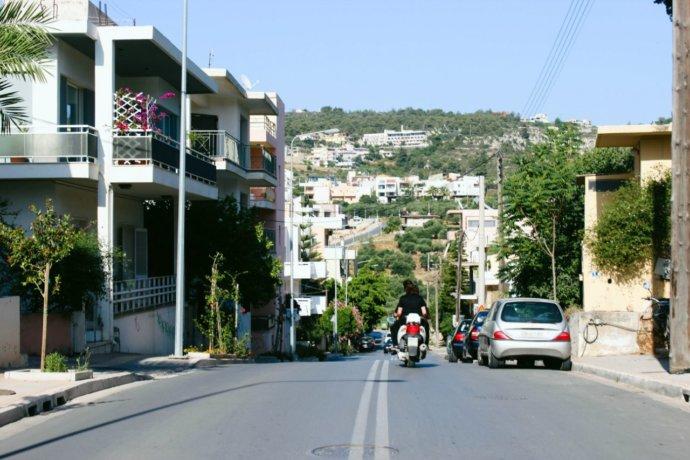 дороги на о.Крит